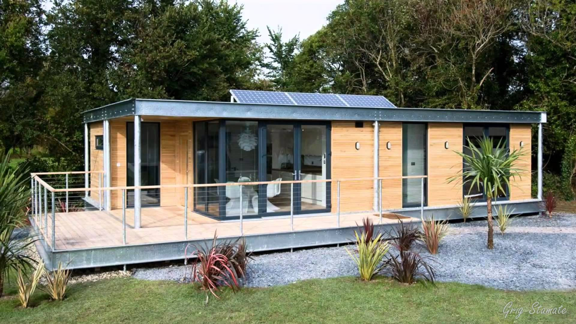 Magnificent Modern Contemporary Prefab Homes, Modular Houses - YouTube
